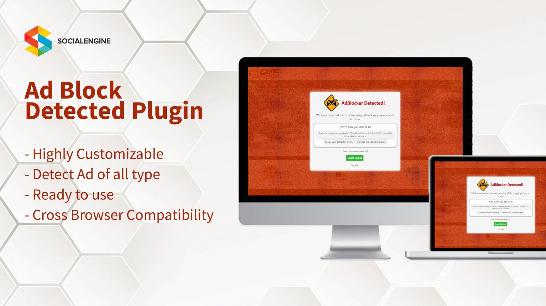 Adblock Detector Plugin
