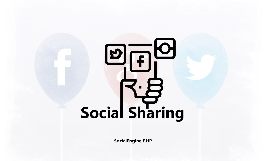 Social Sharing - SE PHP